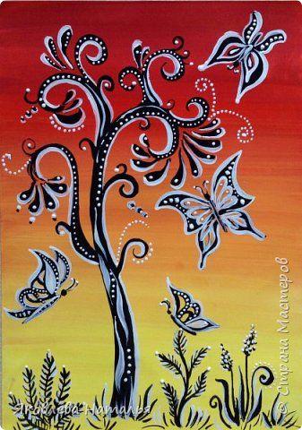 Картина панно рисунок Мастер-класс Рисование и живопись ...