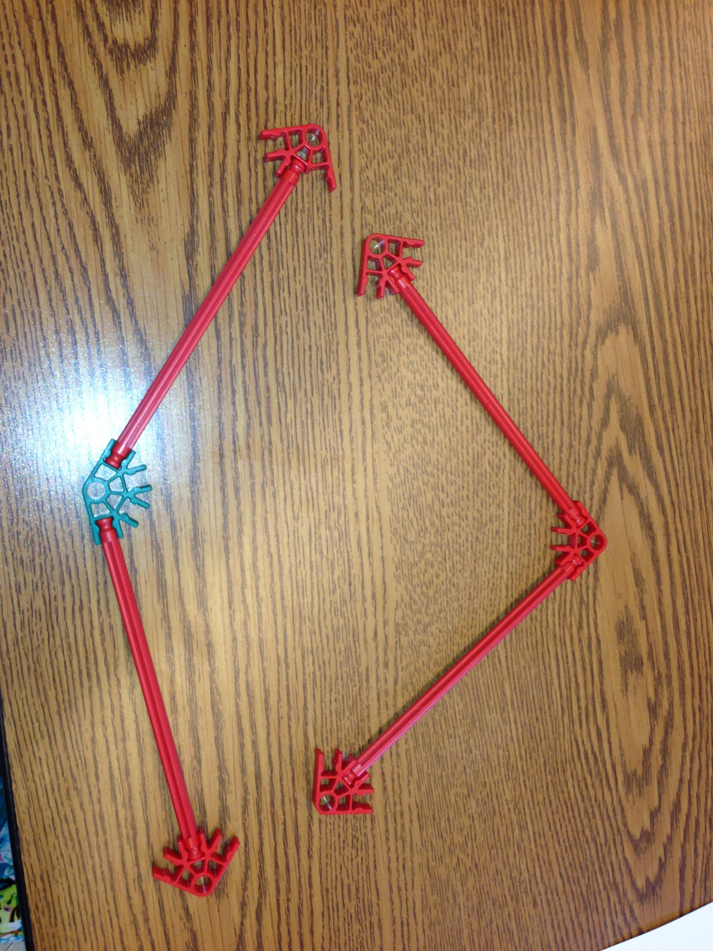 A 90 Degree Angle And 145 Degree Angle Using K Nex This Teaches Children How To Create And Measure Angles Using The Aesthetic Teaching Kids Math Segmentation [ 3264 x 2448 Pixel ]