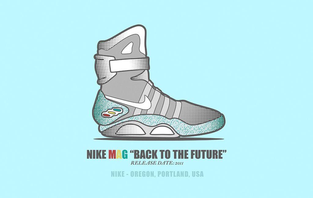 #013 Nike MAG - SNEAKER COOLTURE by Noem9 Studio · Nike MagSneakerSlippers SneakersPlimsoll ShoeTrainers