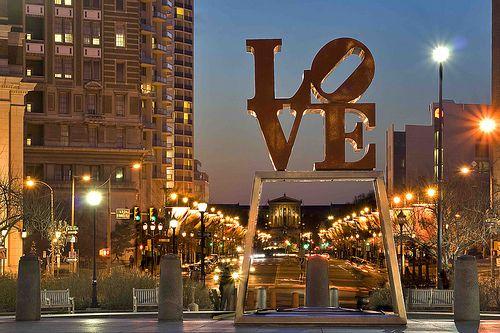 Philadelphia <3. I enjoyed seeing this all around the city.
