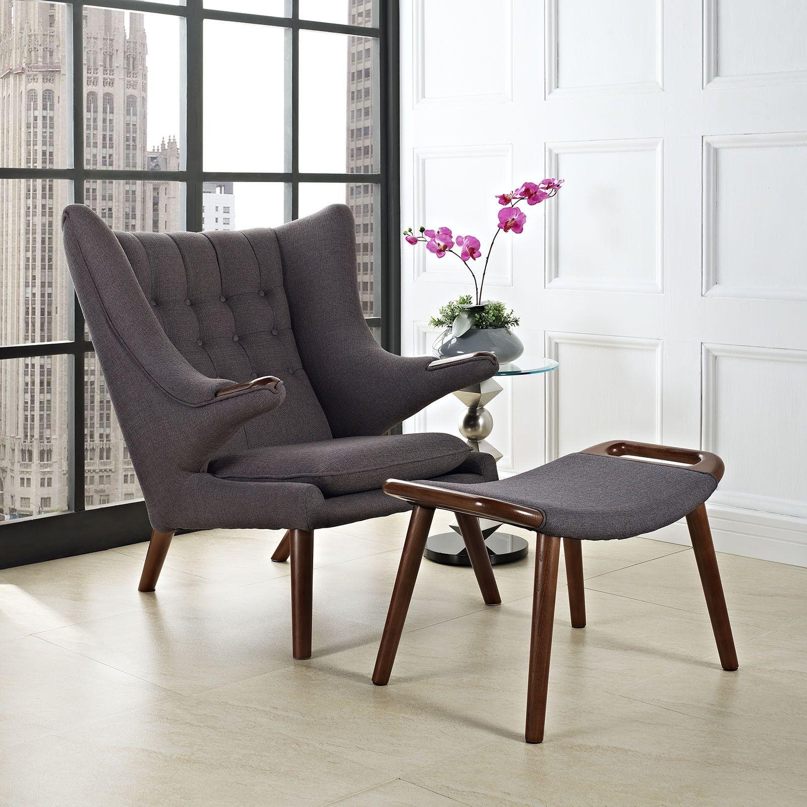 Bear Coffee Table Wegner Papa Bear Chair Ottoman Reproduction Chairs Ottomans
