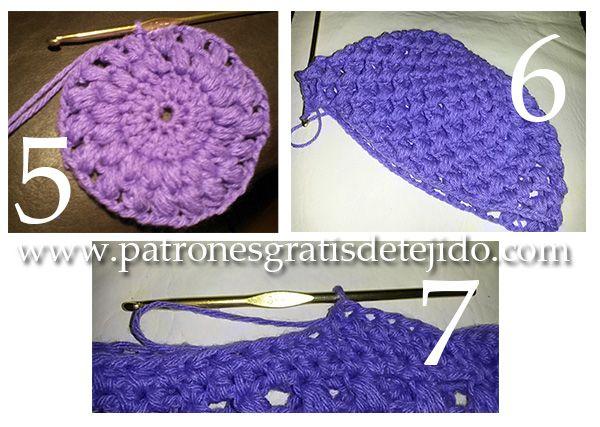 Tutorial / Gorro crochet en punto puff - con video y paso a paso ...
