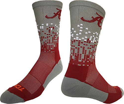 Alabama Crimson Tide Downtown Crew Socks