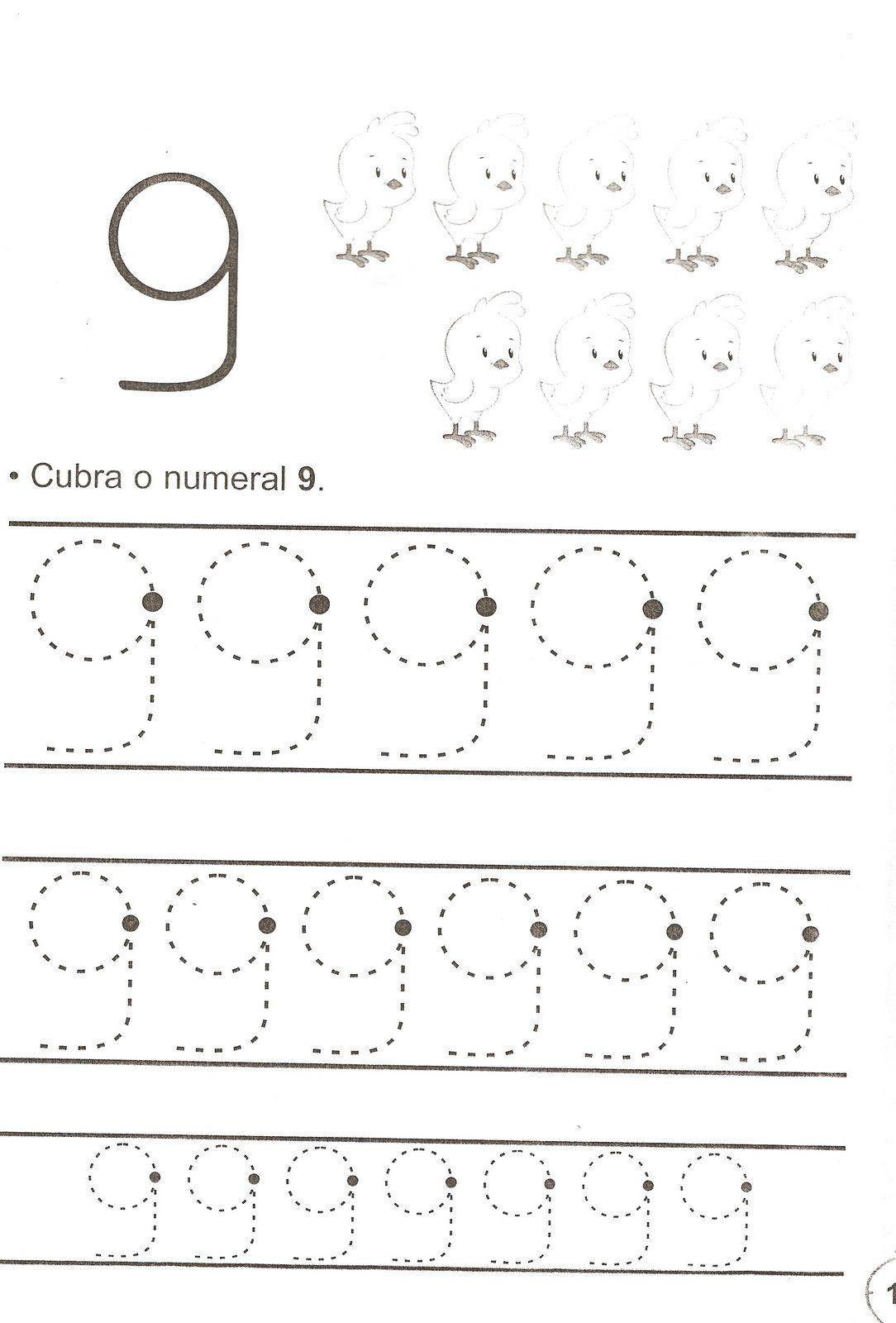 Atividades Com Numero 9 Para Educacao Infantil