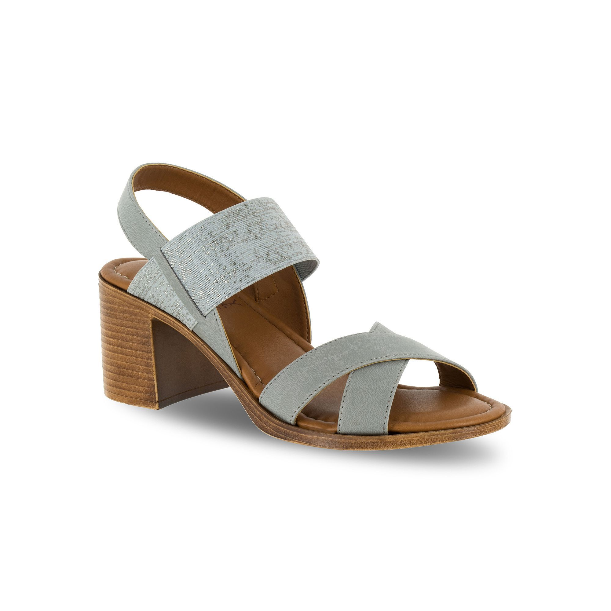 92850e50a75 Tuscany by Easy Street Perlita Women s Block Heel Sandals
