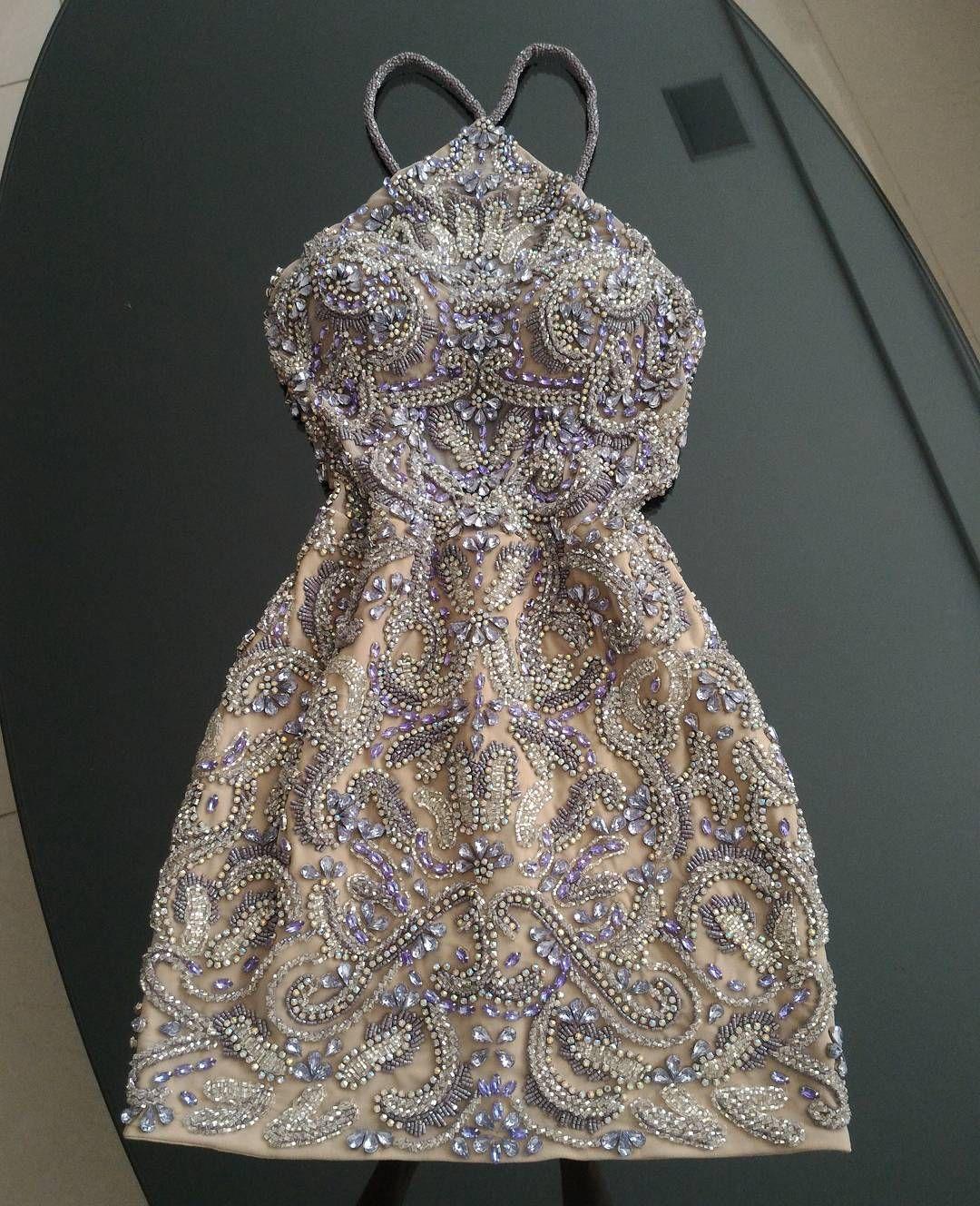 Preciuos!! 💜 Champagne dresses, Dresses, Prom