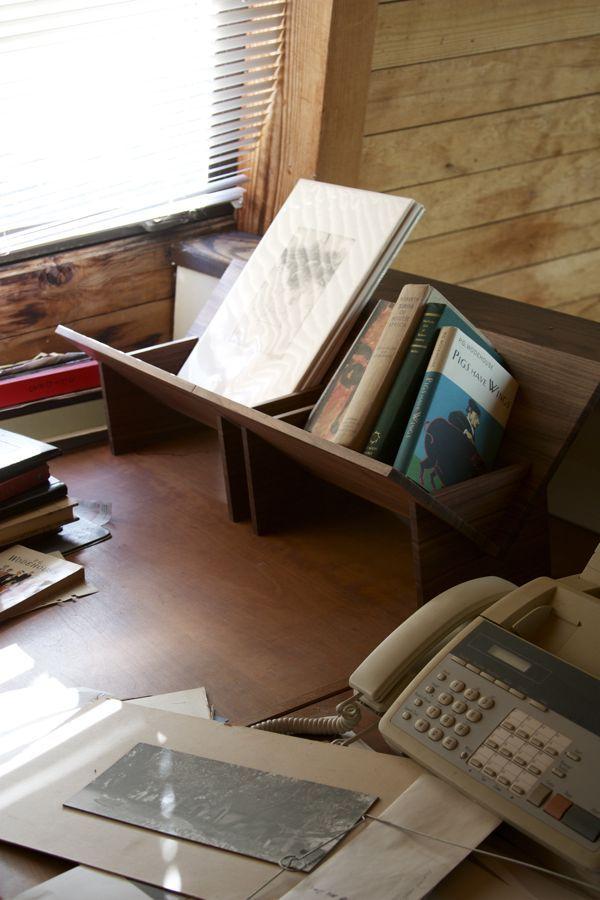 Tabletop Bookshelves Designed By Erik Heywood Of Book Shop Inspired Bruno Mathssons Crib