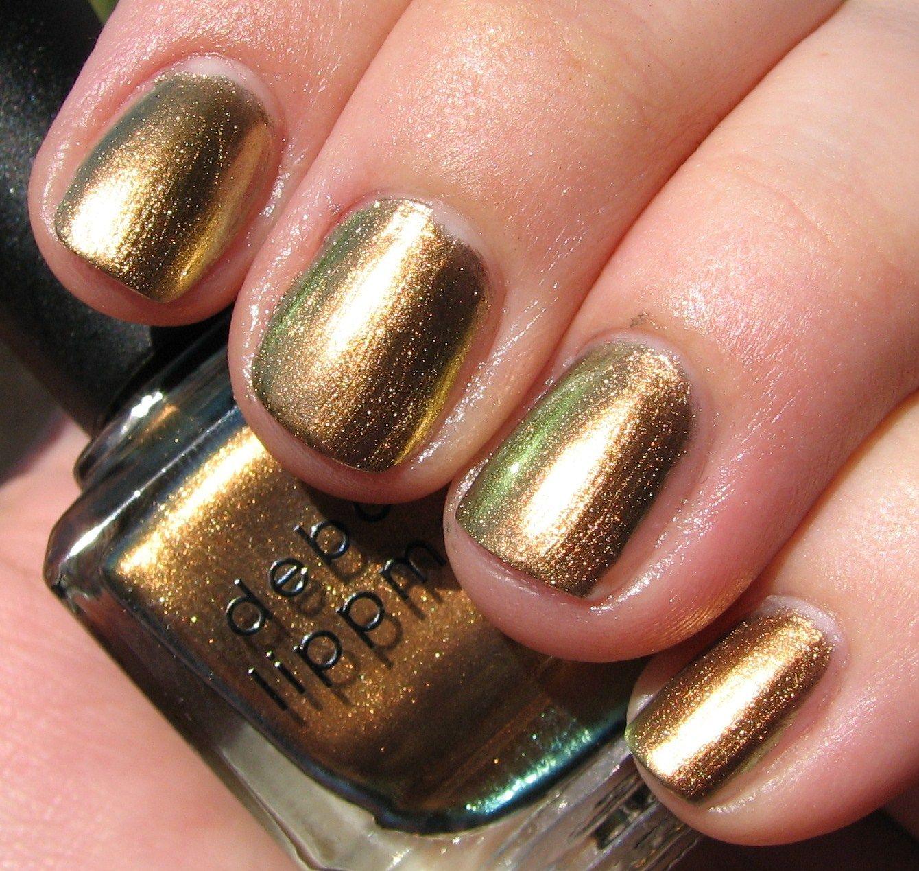 Nail Polish That Looks Like Chrome: Deborah Lippmann SWAGGA LIKE US Nail Polish Swatches
