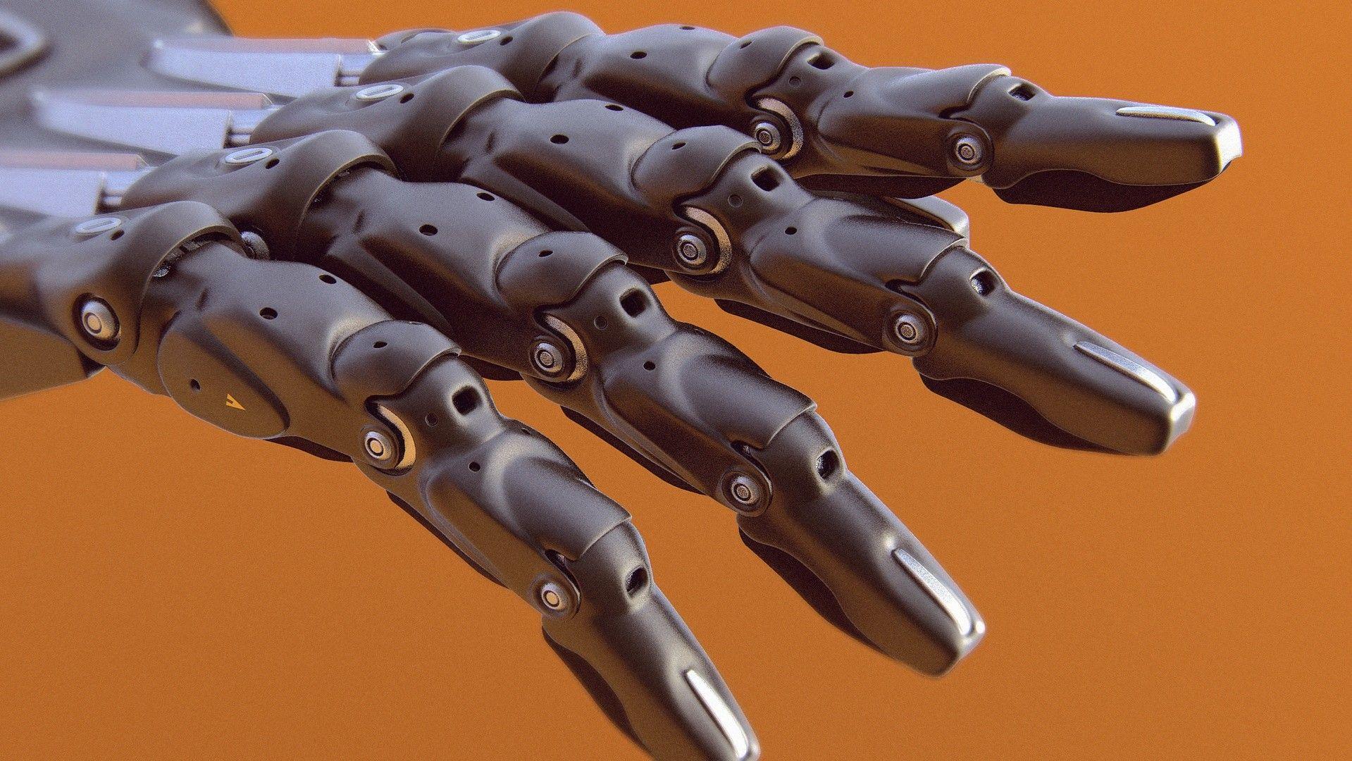 ArtStation - Robot hand., Evgeniy Gottsnake