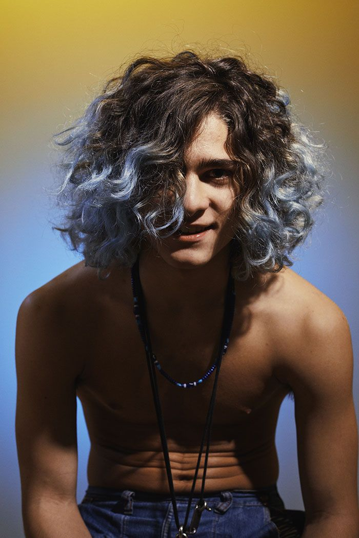 Fashion Grunge Style Mens Hair Colour Men Hair Color Long Hair Styles Men