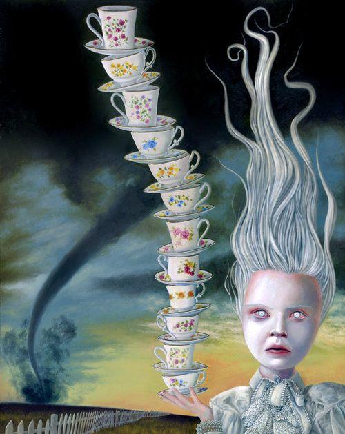 David Stoupakis - Balance, 2005. Painting: Oil on Board