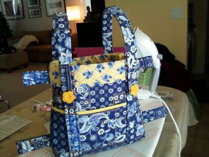 Quilted Walker Tote Bag Pattern Free Patterns To