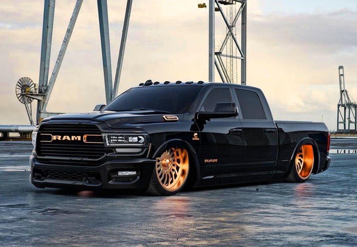 Custom 2020 Dodge Ram 2500 Cummins Dodge Trucks Dropped Trucks Lowered Trucks