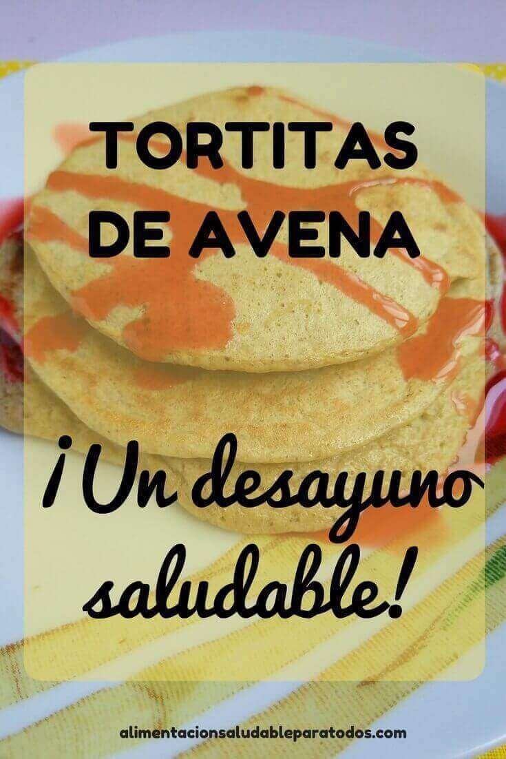 Tortitas De Avena F Ciles Un Desayuno Saludable Incluso Si  ~ Cenas Ligeras Para Bajar De Peso