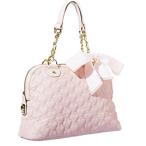 efb7bba0a4 betseyjohnson #pink #hearts #bow #perfection #pastel | Betsey's Bags ...