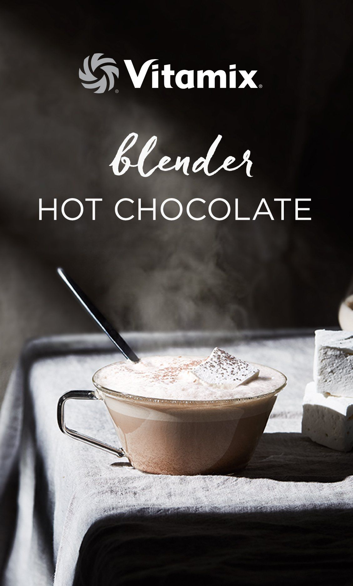Hot chocolate recipe in 2020 food recipes vitamix