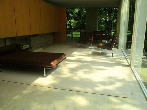 In The Farnsworth House