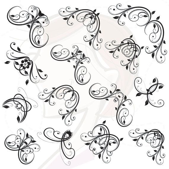 Birthday Party Clip Art Borders Black And White