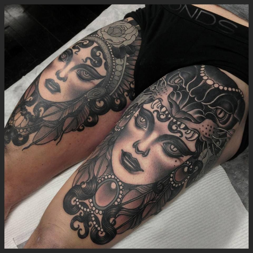 Tattoo by Emily Rose Murray. LOVE HER