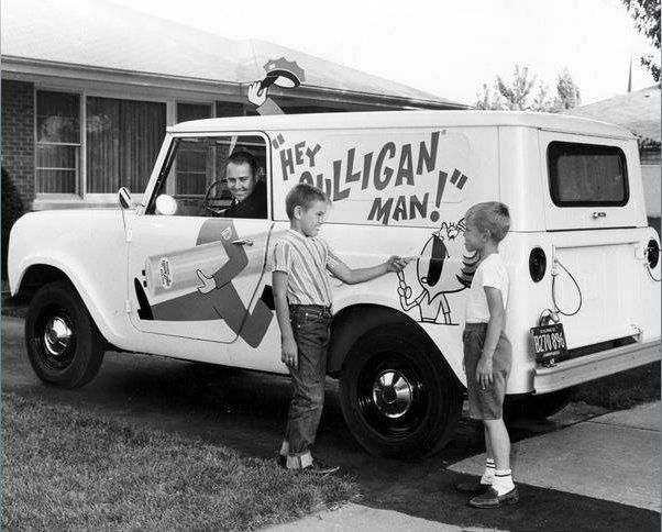 Hey Culligan Man In The 1950s This Truck Delivered A Lot Of Water Softener Salt Vintagead Culliganman Culligan Topeka Man
