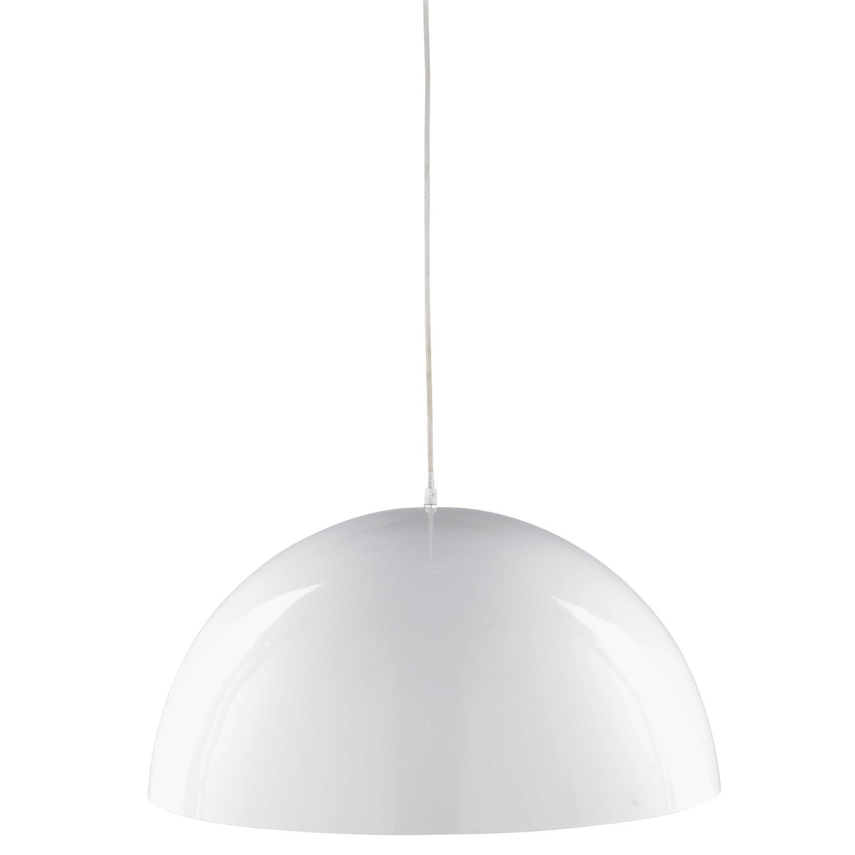 Lampada A Sospensione Bianca In Metallo 60 Cm In 2020 Industrial Pendant Lights Retro Ceiling Lights Ceiling Lights