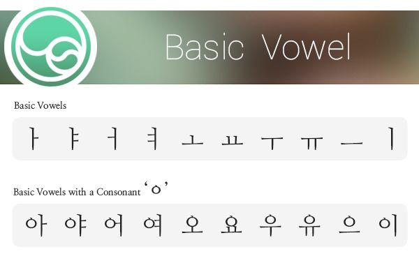 Korean vowel How to pronounce real Korean innocontents
