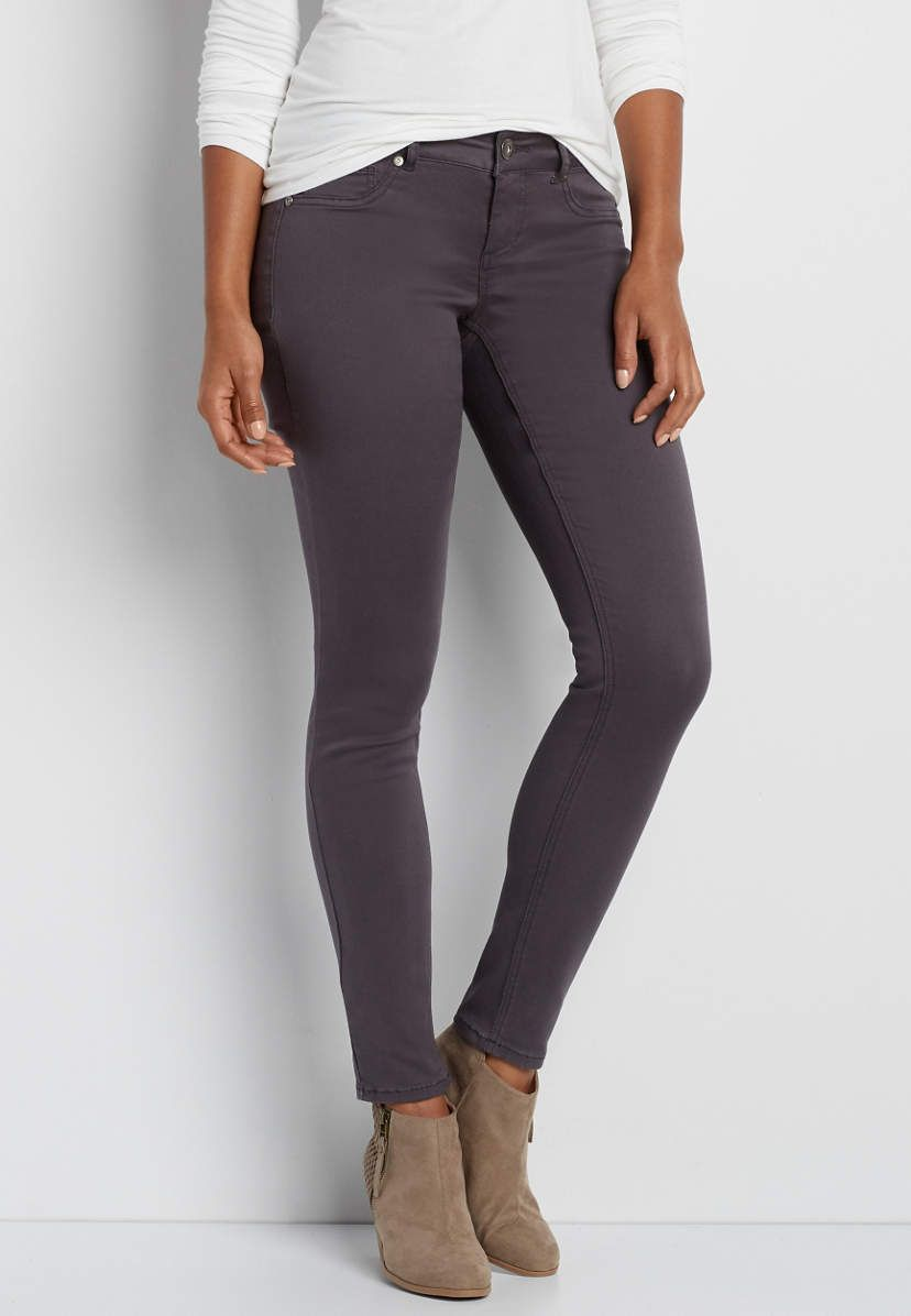 DenimFlex™ jegging in slate | maurices