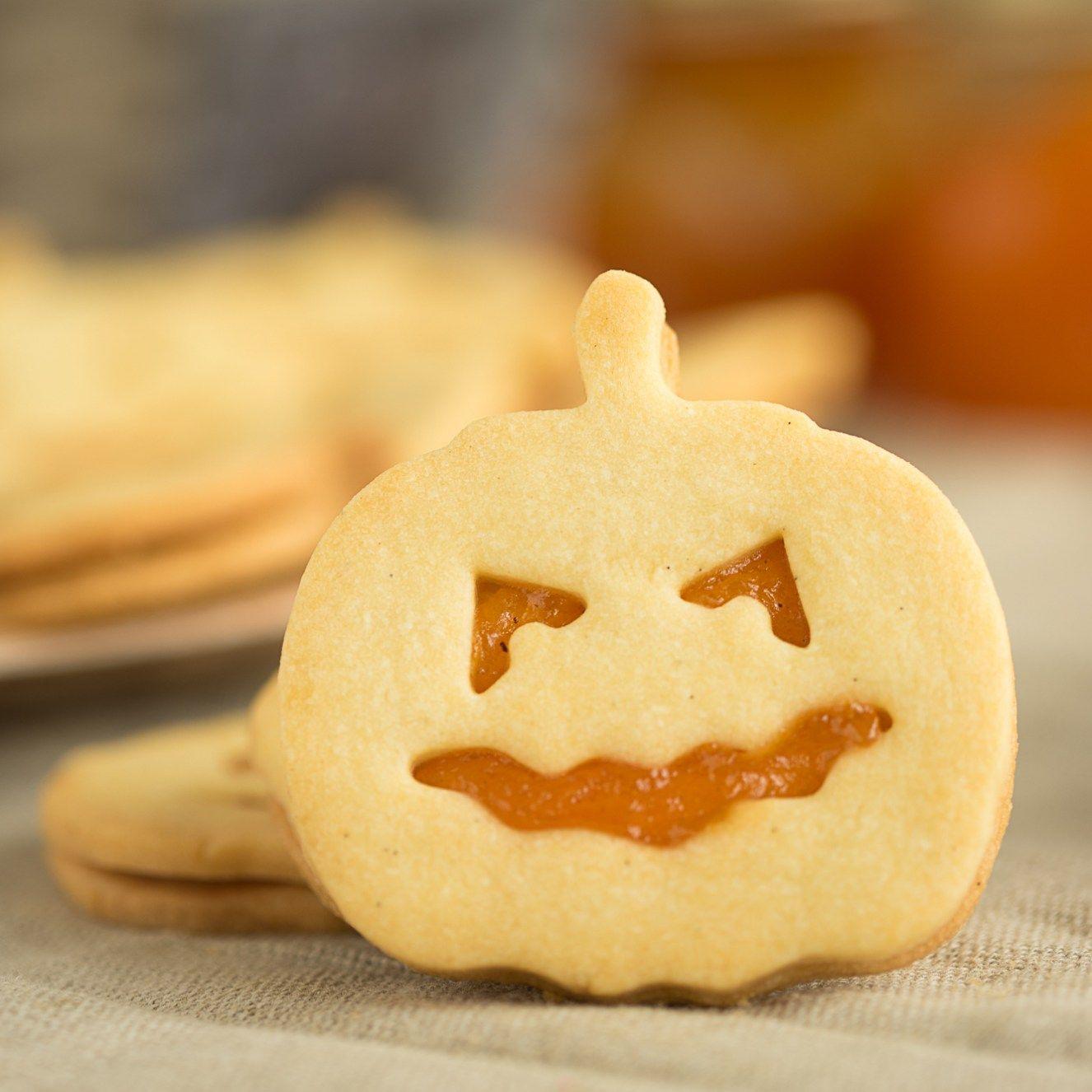 Halloween Kürbis Kekse Rezept Halloween kekse