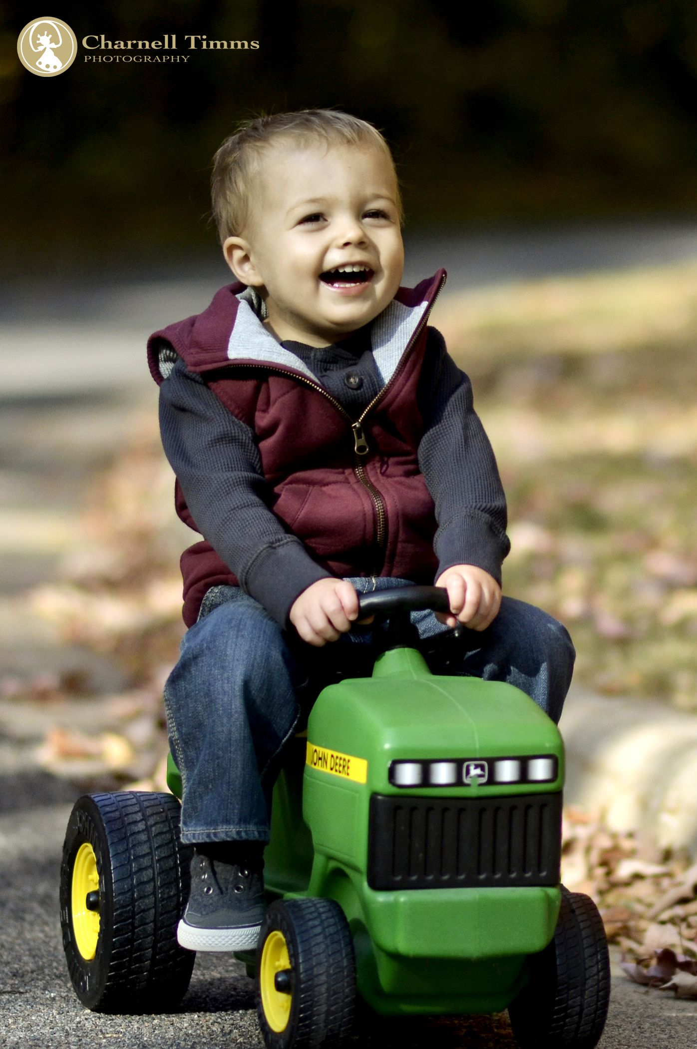 Little boys and their favourite toys. Charnell Timms Photography