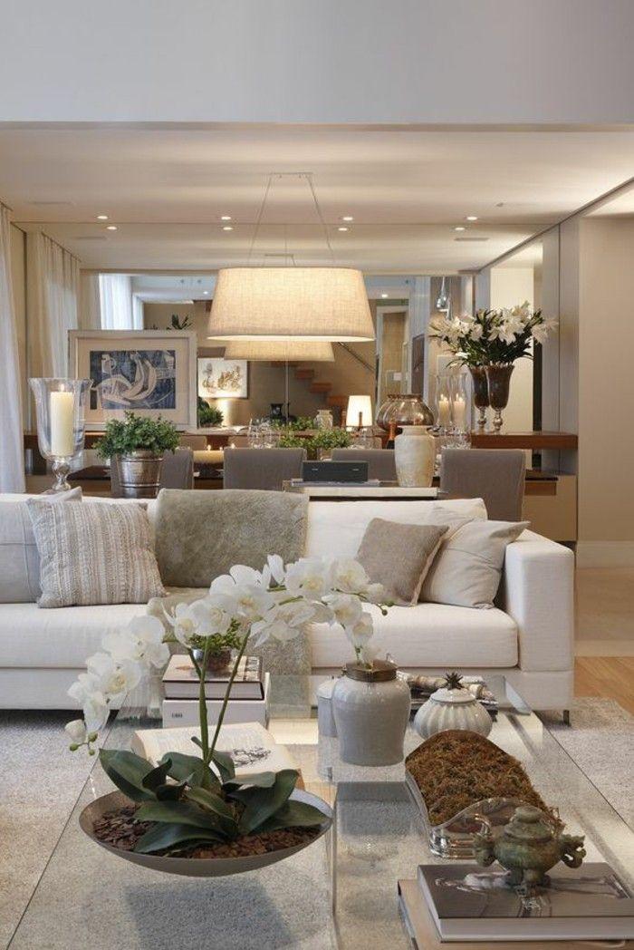 Einladendes Wohnzimmer dekorieren Ideen und Tipps Casas novas