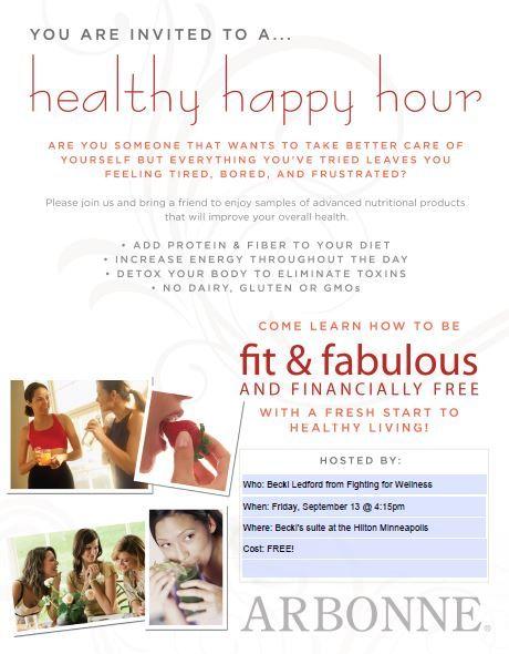 happy hour invite wording samples