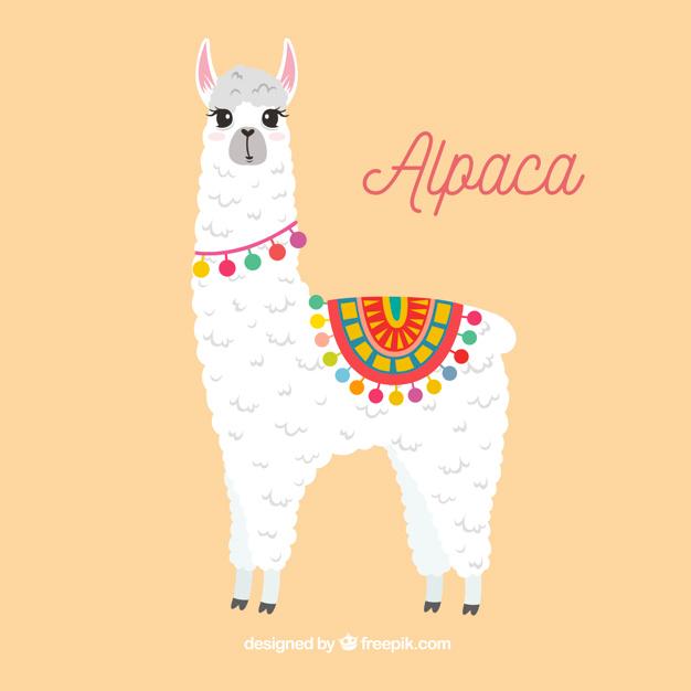 Download Cute Alpaca Background For Free Alpaca Drawing Cute Alpaca Llama Drawing
