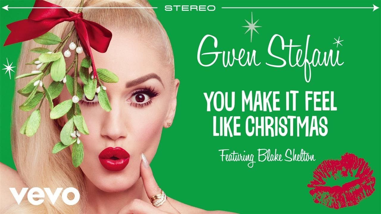 gwen stefanis christmas album is already here and it features a romantic duet with blake shelton - Blake Shelton Christmas Album
