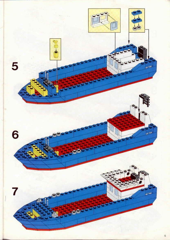 Old Lego Instructions Letsbuilditagain Lets Build