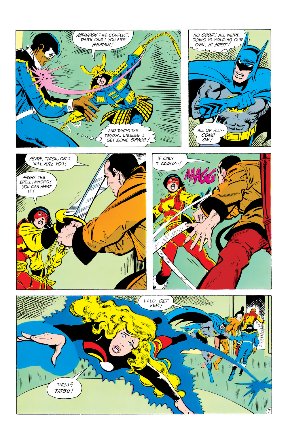 Batman And The Outsiders 1983 Issue 12 Read Batman And The Outsiders 1983 Issue 12 Comic Online In High Quality Heavy Metal Comic Comics Star Comics