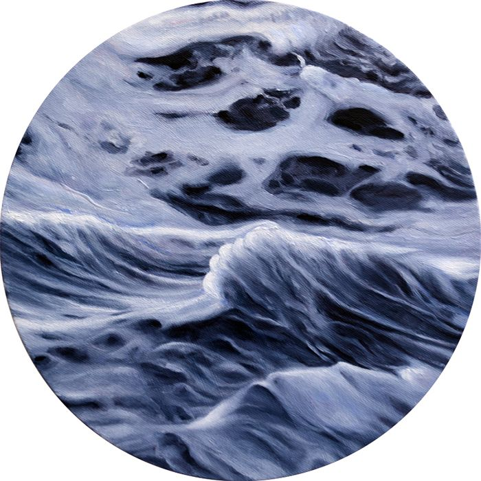 A Dot Cutout of the Ocean! —giftsedie nadelhaft fine art: Land Sea Sky