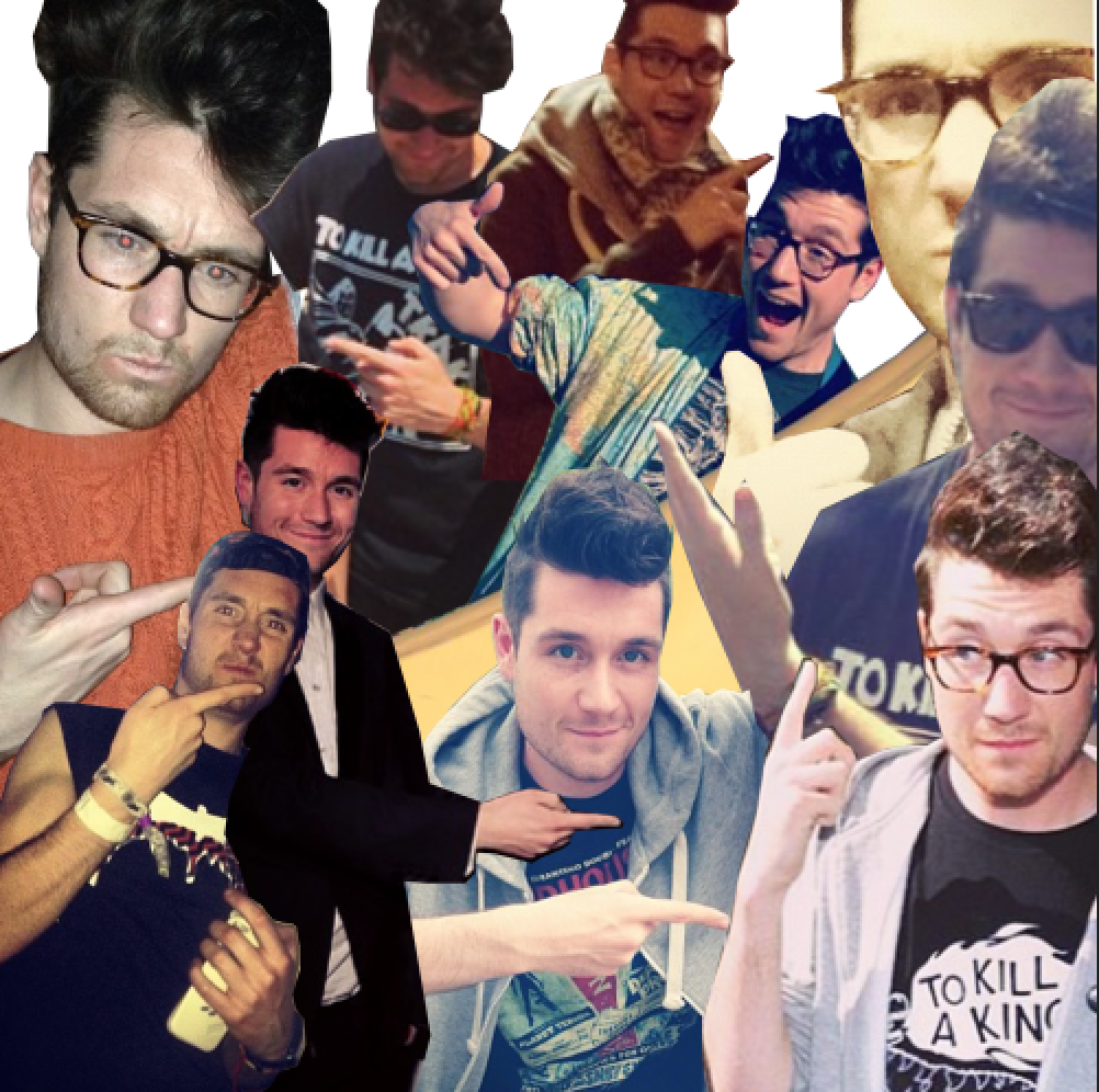 Dan Pointing At Things Dan Smith Music Is My Escape Bastille