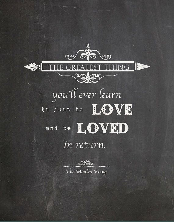 This quote really resonates with me, ever since I saw the musical and even to this day. People should learn to let love express things; it's a powerful emotion not just towards others but unto themselves.