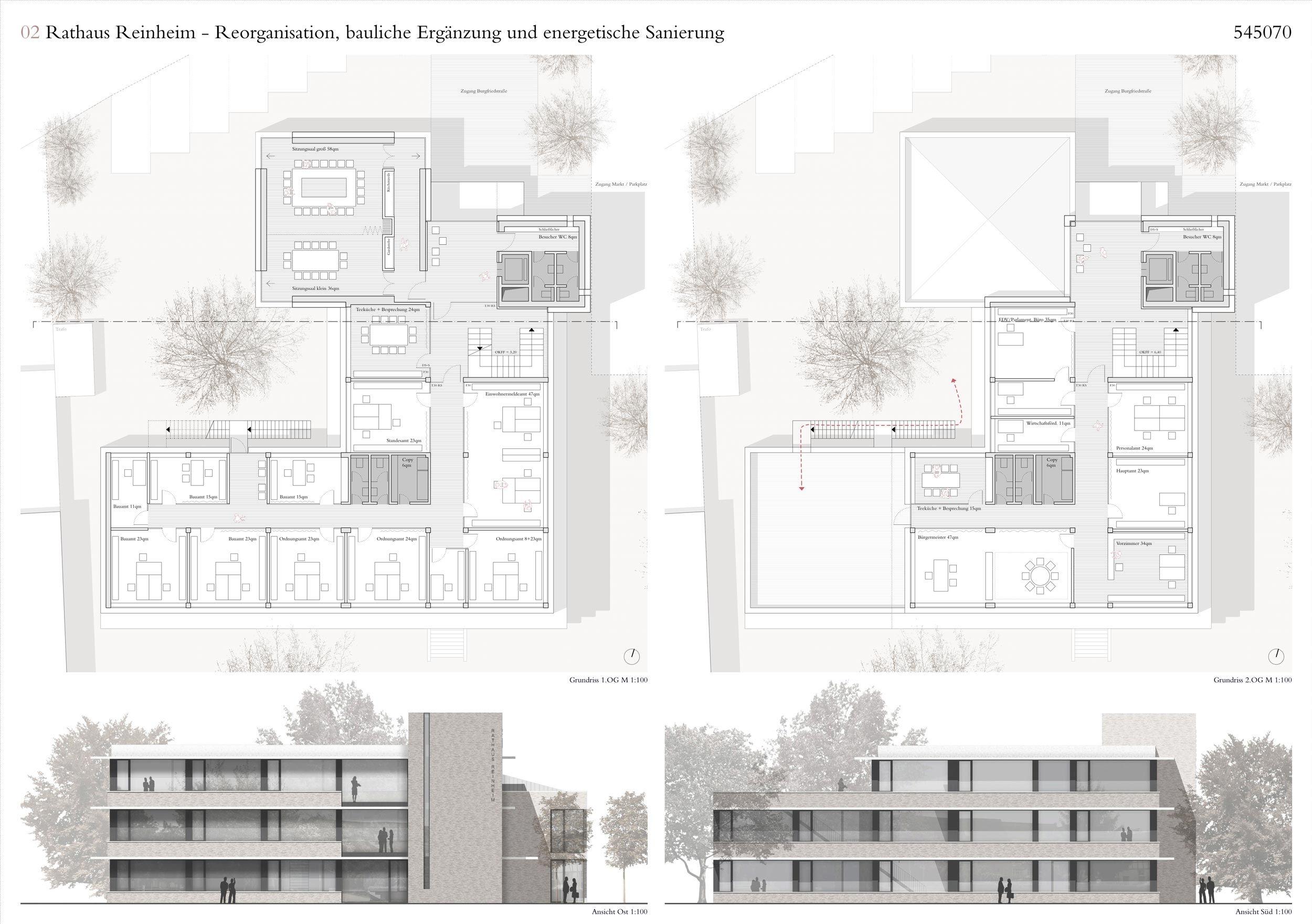 2. Preis: Plan 02, © gernot schulz : architektur GmbH