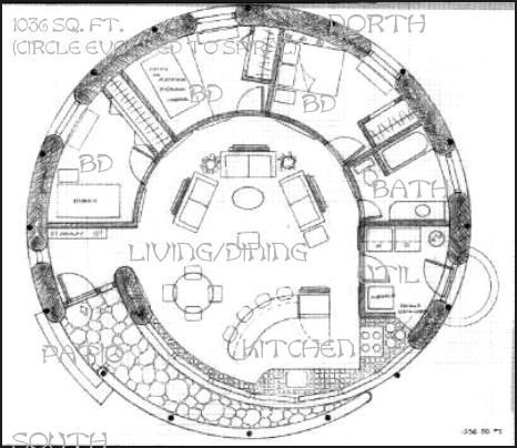 1036 sq ft spiral round house 3 br central living area 1036 sq ft spiral round house 3 br central living area malvernweather Images