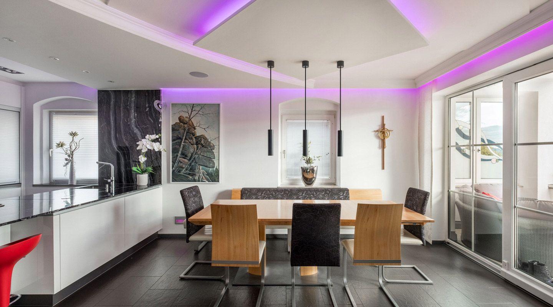 Lichtsteuerung Mit Loxone Atemberaubende Beleuchtung Klassisches Esszimmer Beleuchtung Lichtsteuerung