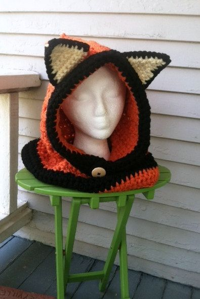 Fox Cowl by JHCrafter on Etsy, $20.00