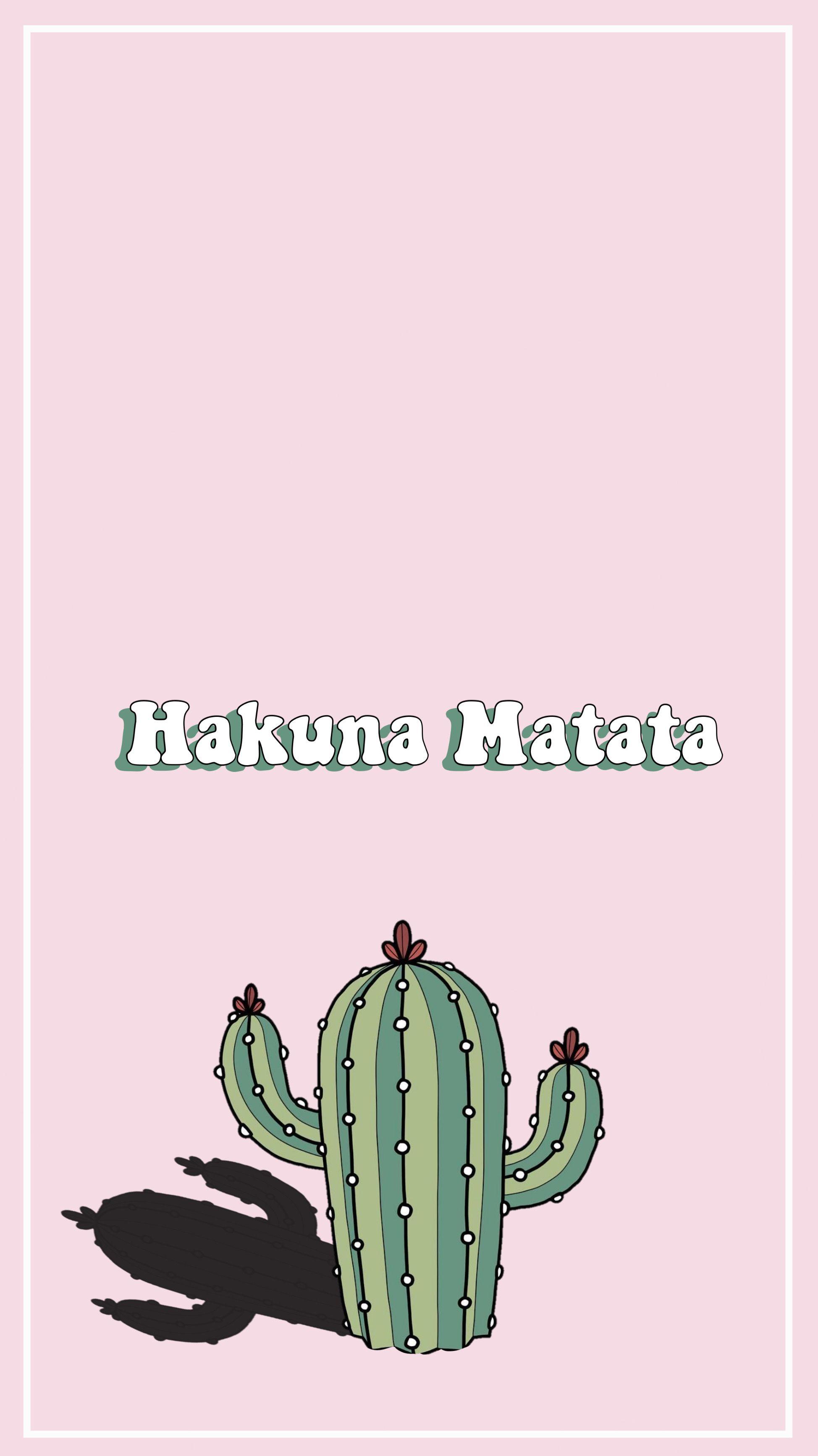 Aesthetic Lockscreen Wallpaper Hakuna Matata Hakuna Matata Hakuna Wallpaper