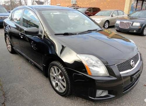 2007 Nissan Sentra SE R, Black, Manual Transmission, 105K Miles