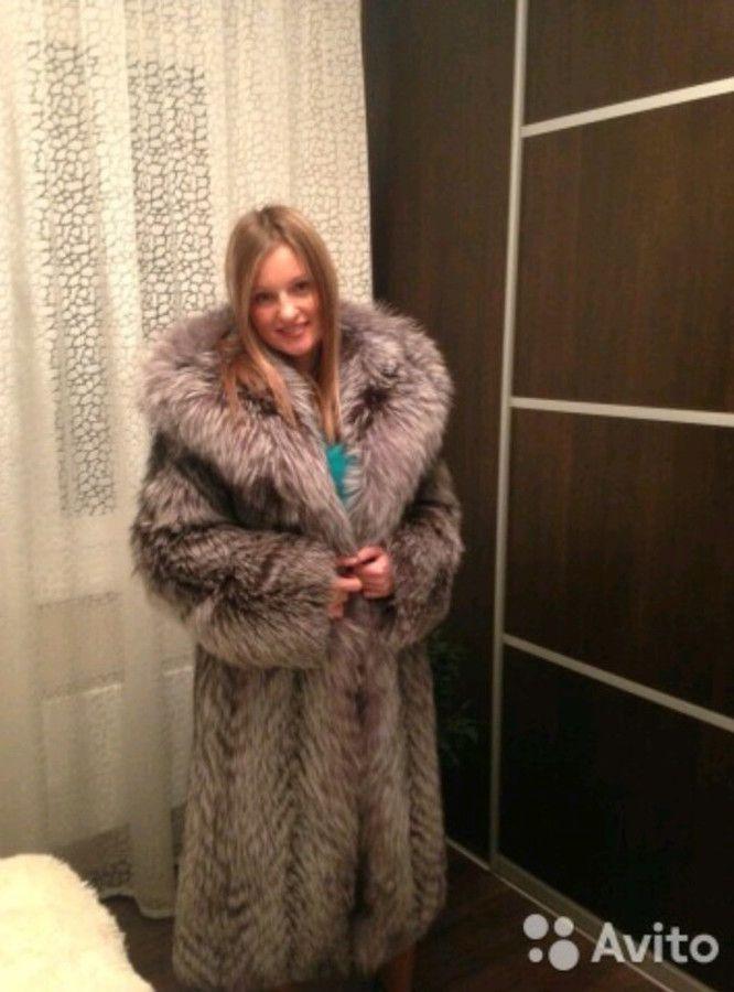 Russian women in fur coats think, that