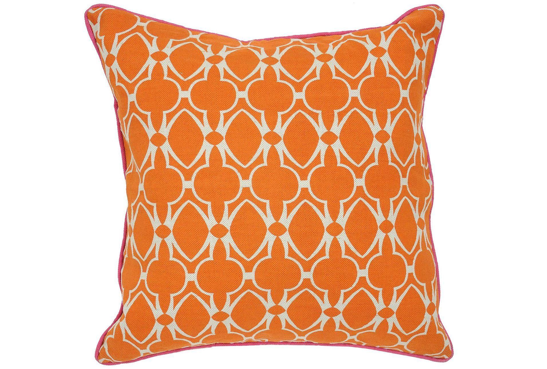 Accent Pillow-Phoebe Orange 22X22