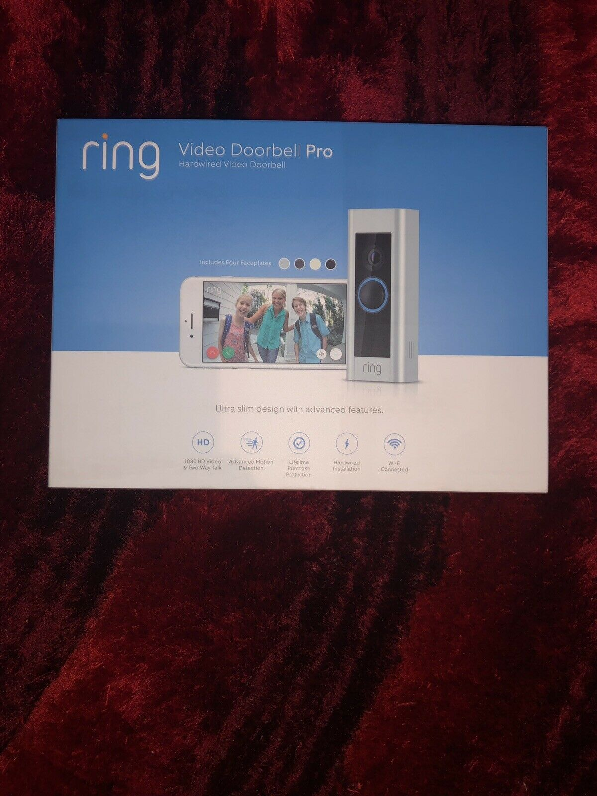 8VR1P6-0EN0 Ring Video Doorbell Pro