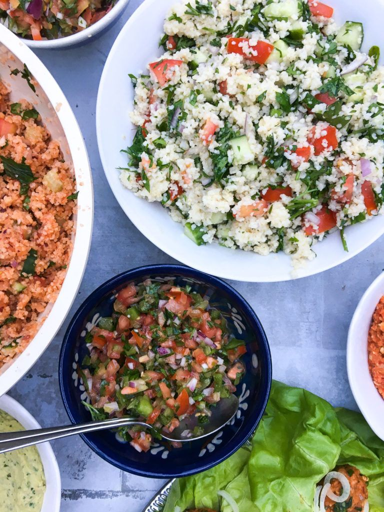 Tyrkisk middag - tyrkiske vegetarretter | Aftensmad