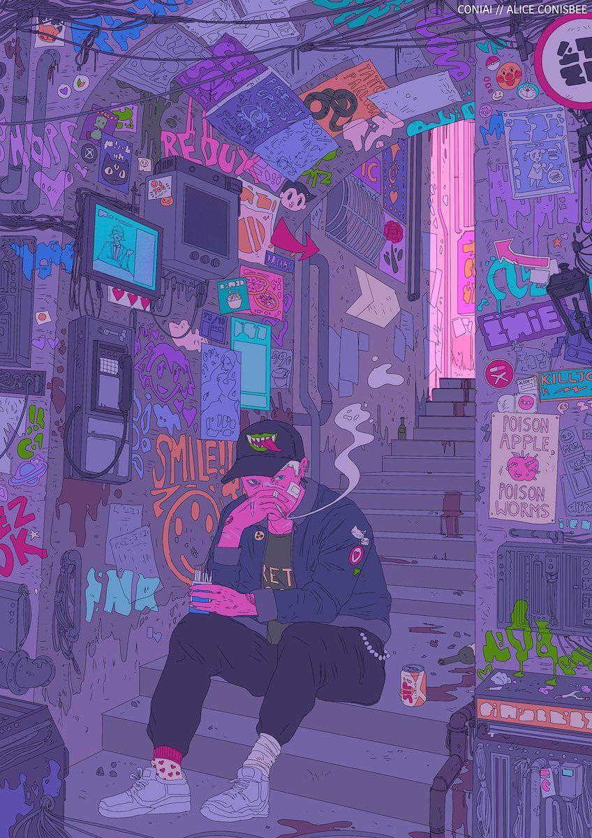 Alice Conisbee Aesthetic Art Community Art Pixel Art