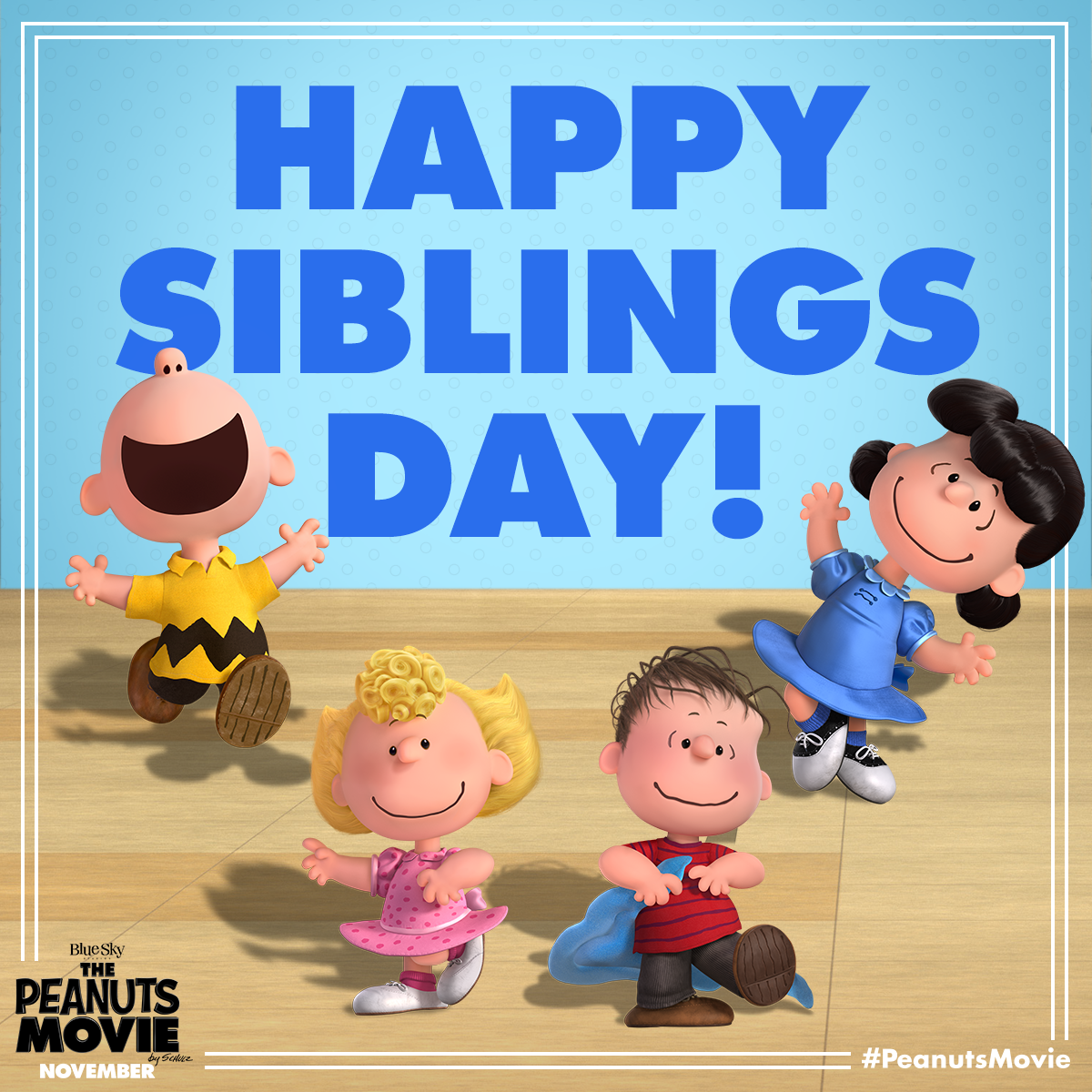 Happy Sister And Brothers Day: Oh Brother! Happy National Siblings Day From The Peanuts